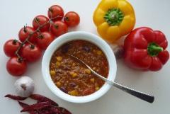 Chili con carne mit Rotwein