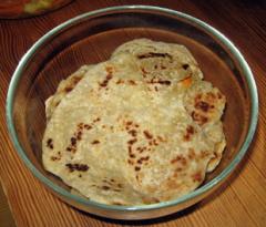 Chapati - Fladenbrot aus Tansania