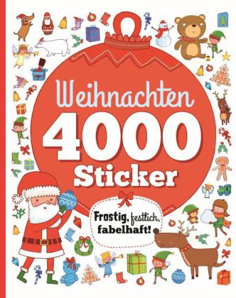 weihnachten 4000 sticker. Black Bedroom Furniture Sets. Home Design Ideas