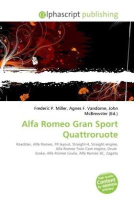 Alfa Romeo Gran Sport Quattroruote