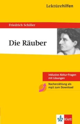 Lektürehilfen Friedrich Schiller 'Die Räuber'