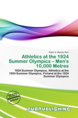 Athletics at the 1924 Summer Olympics - Men's 10,000 Metres