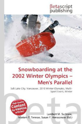 Snowboarding at the 2002 Winter Olympics - Men's Parallel