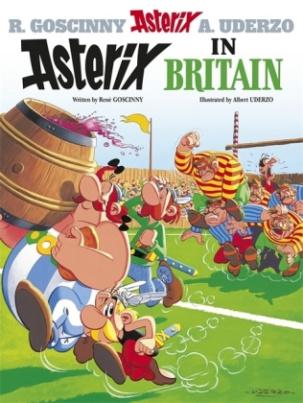 Asterix - Asterix in Britain. Asterix bei den Briten, englische Ausgabe