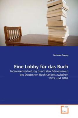 Eine Lobby für das Buch