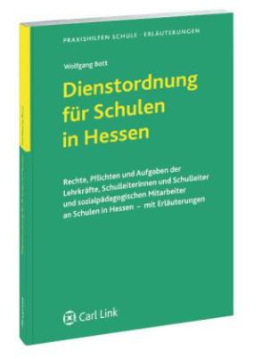 Dienstordnung für Schulen in Hessen