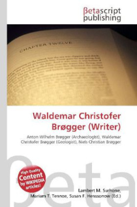 Waldemar Christofer Brøgger (Writer)