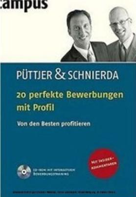 20 perfekte Bewerbungen mit Profil, m. CD-ROM