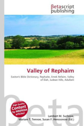 Valley of Rephaim
