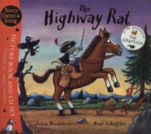 The Highway Rat, w. Audio-CD. Räuber Ratte, englische Ausgabe .
