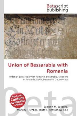 Union of Bessarabia with Romania