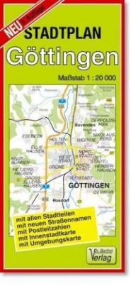 Doktor Barthel Stadtplan Göttingen