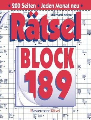 Rätselblock. Bd.189