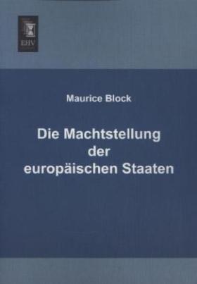Die Machtstellung der europäischen Staaten