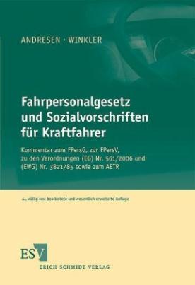 Fahrpersonalgesetz und Sozialvorschriften für Kraftfahrer (FPersV), Kommentar