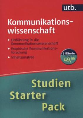 Studien-Starter-Pack Kommunikationswissenschaft