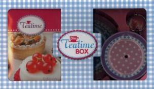 Die Teatime-Box, m. Etagere