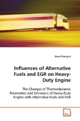 Influences of Alternative Fuels and EGR on Heavy- Duty Engine