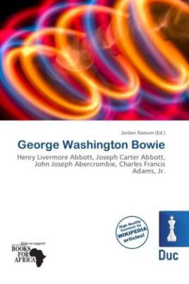 George Washington Bowie