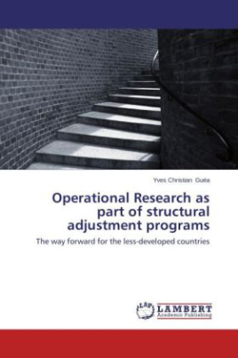 Operational Research as part of structural adjustment programs