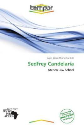 Sedfrey Candelaria