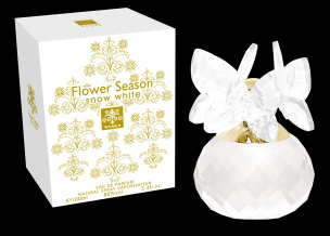 Flower Season Snow White Eau de Parfum für Sie