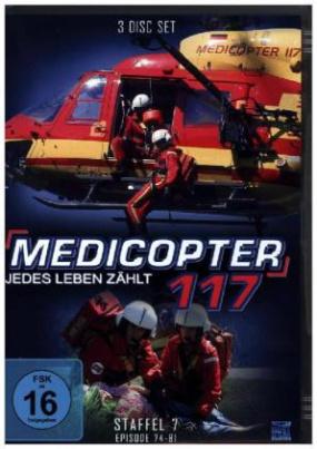 Medicopter 117 - Jedes Leben zählt, 3 DVDs. Staffel.7