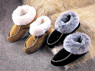 Eskimo-Slipper, beige 43-44