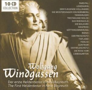 Windgassen- Erster Heldentenor, 10 Audio-CDs