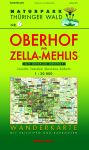 Wanderkarte mit Loipen und Radrouten: Thüringer Wald Nr.6