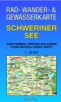 Rad-, Wander- & Gewässerkarte: Schweriner See (Doppelkarte)