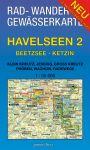 Rad-, Wander- und Gewässerkarte Havelseen 2: Beetzsee/Ketzin